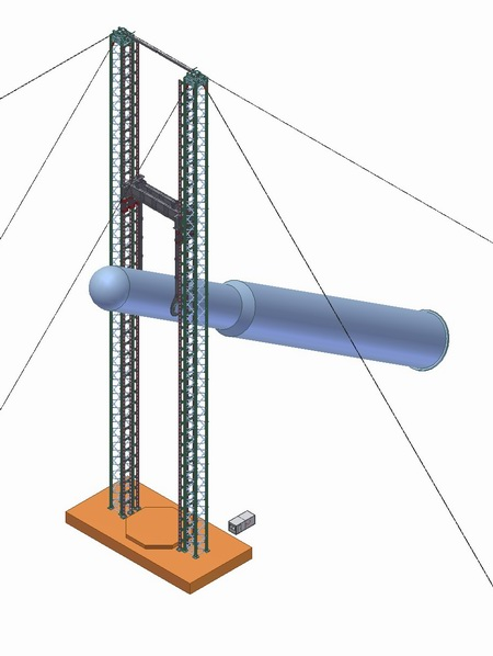 DL-TS3600 jacking tower system