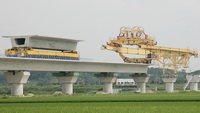 honam high speed rail gantry